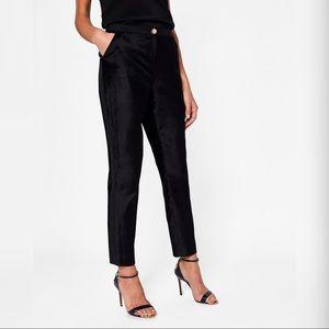 Ted Baker Velvet Suit Trouser Pants
